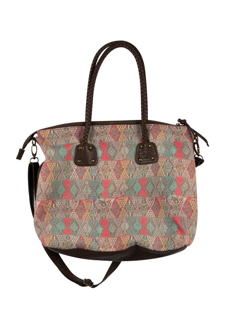Ladies' Diamond Print Tote