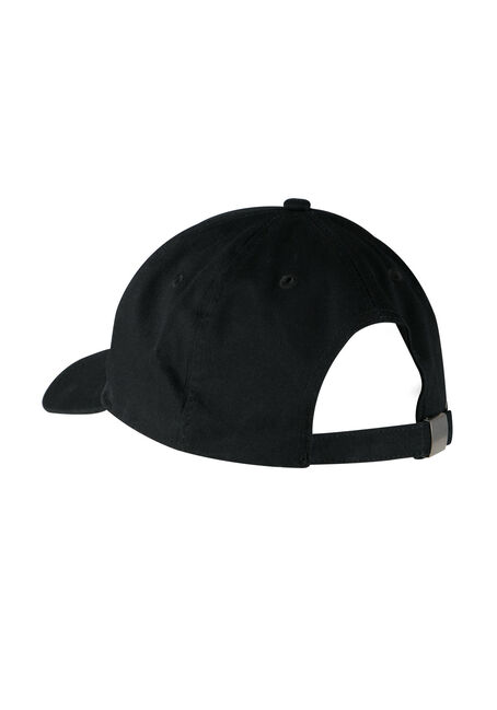 Ladies' Priority Baseball Hat, BLACK, hi-res