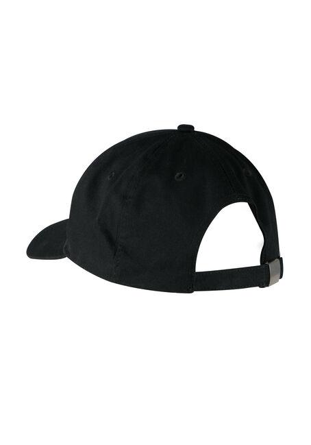 Ladies' Priority Baseball Hat, BLACK, hi-res