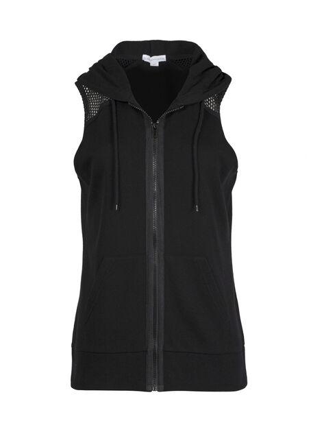 Ladies' Mesh Accent Vest