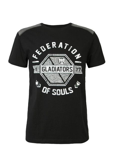 Men'sFederation Of Souls Color Block Tee