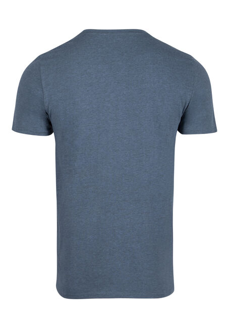 Men's Everyday Crew Neck Tee, SHADOW BLUE, hi-res