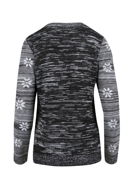 Ladies' Baahumbug Sweater, GREY MARL, hi-res