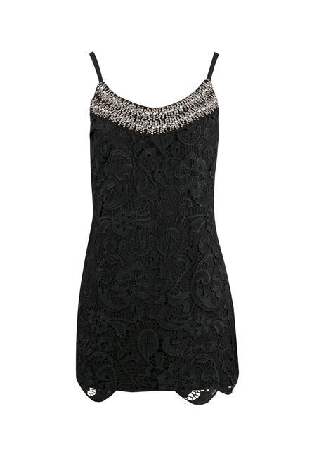 Ladies' Crochet Overlay Tank