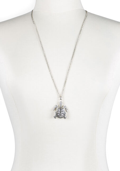 Ladies' Turtle Pendant Necklace