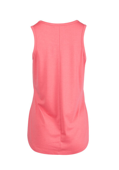 Ladies' Cage Neck Tank, ROSE, hi-res