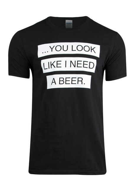 Men's Need A Beer Tee