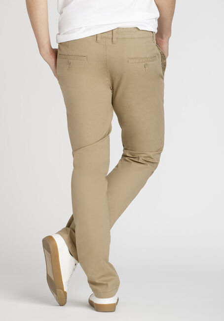 Men's Chino Pants, KHAKI, hi-res