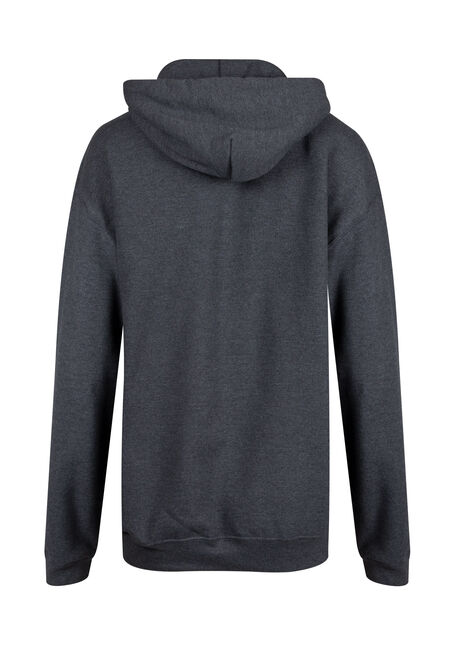 Ladies' Official Bonfire Hoodie, CHARCOAL, hi-res