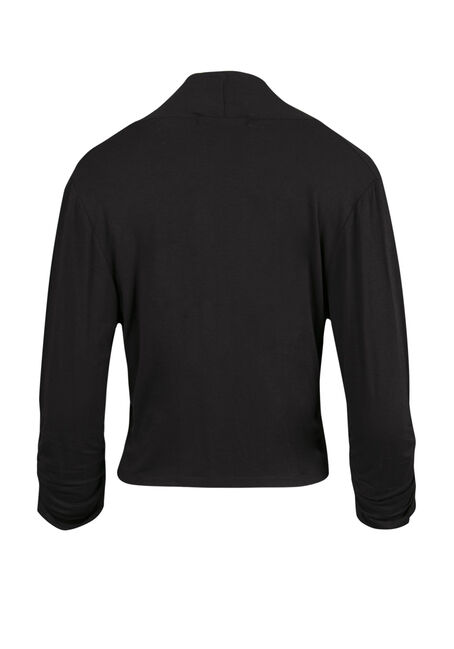 Ladies' Shrug, BLACK, hi-res