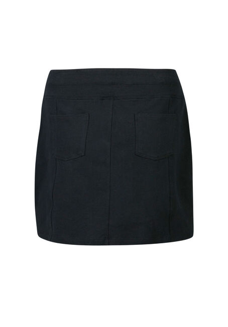 Ladies' Skort, BLACK, hi-res