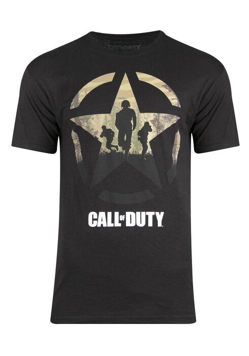 Men's Call Of Duty Tee, BLACK, hi-res