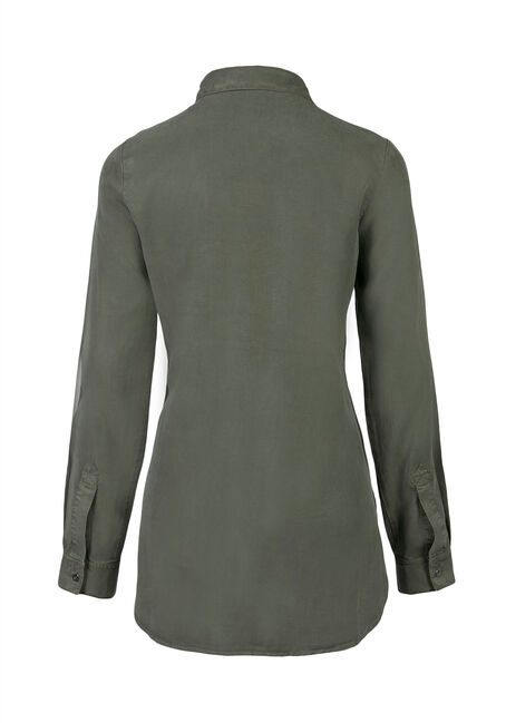 Ladies' Utility Shirt, MOSS, hi-res