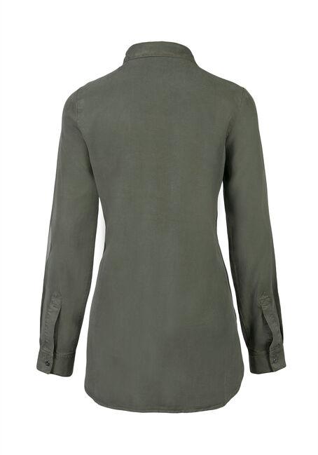 Ladies' Utility Shirt, MOSS, hi-res
