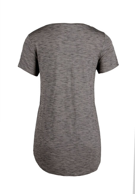 Ladies' Relaxed V-Neck Tee, OLIVE, hi-res