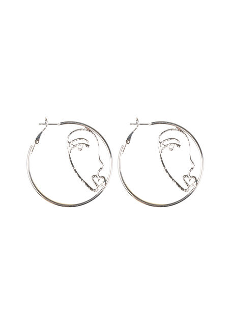 Ladies' Picasso Style Earrings