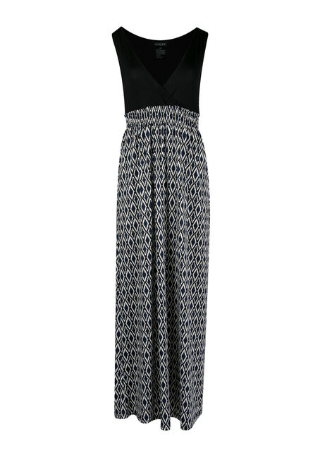 Ladies' Mosaic Maxi Dress
