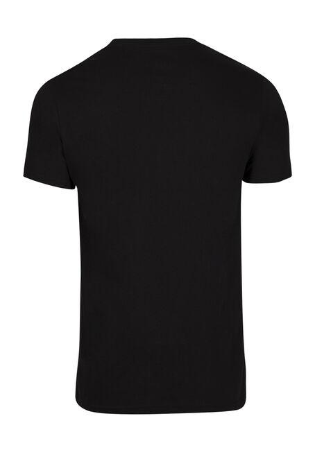 Men's Nirvana Tee, BLACK, hi-res