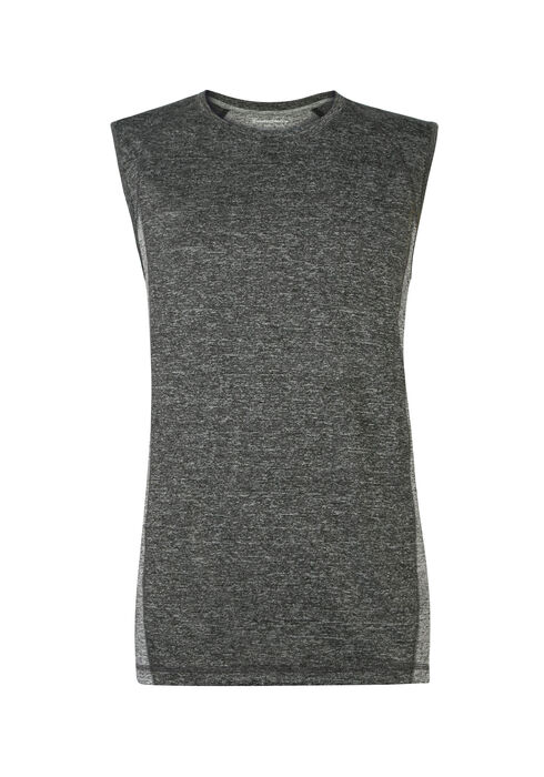 Men's Tech Tank, BLACK, hi-res