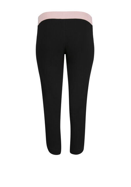 Ladies' Love Capri Legging, BLACK, hi-res