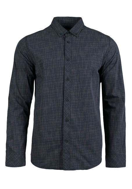 Men's Linear Pattern Shirt