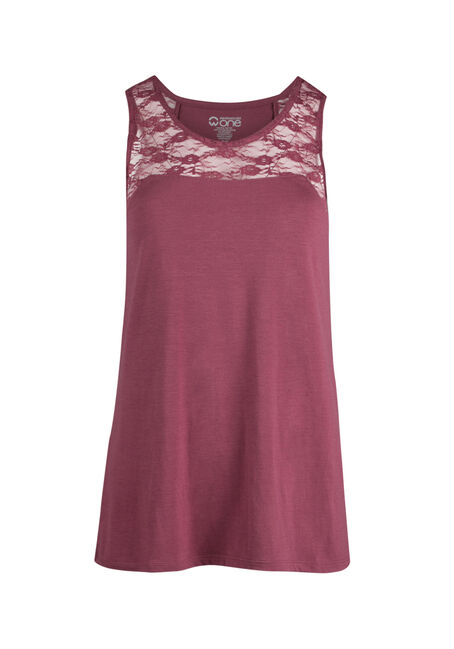 Ladies' Lace Yoke Tank