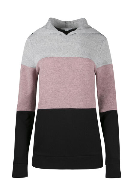 Ladies' Color Block Hoodie