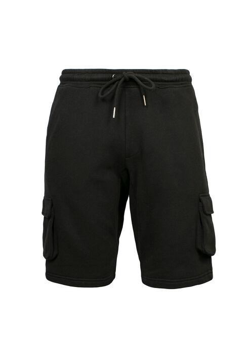 Men's Cargo Short, BLACK, hi-res