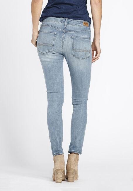 Ladies' Skinny Jeans, LIGHT VINTAGE WASH, hi-res