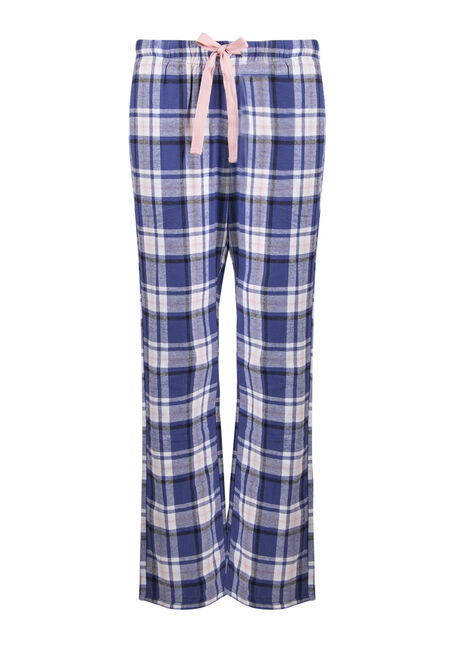 Ladies' Plaid Lounge Pant