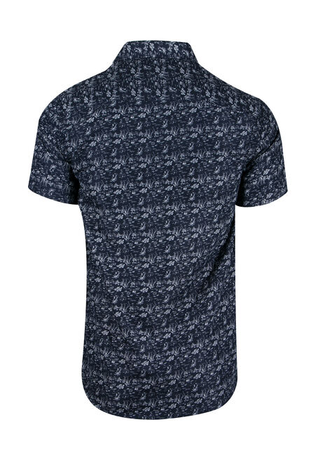Men's Tropical Shirt, NAVY, hi-res