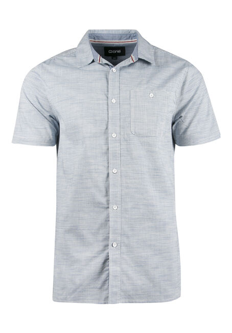 Men's Stripe Linen Shirt