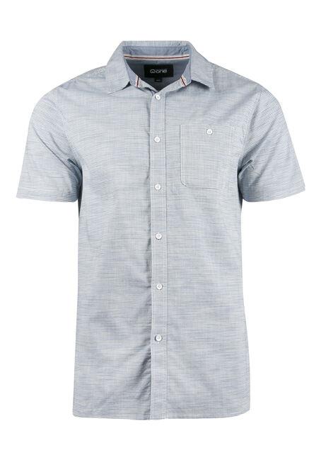 Men's Stripe Linen Shirt