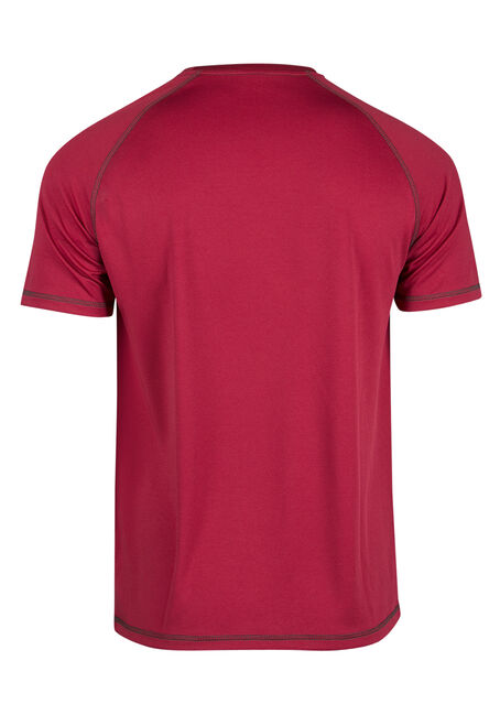 Men's Tech Tee, RED, hi-res