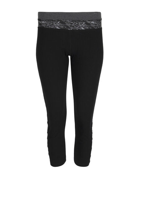 Ladies' Ladder Leg Capri Legging
