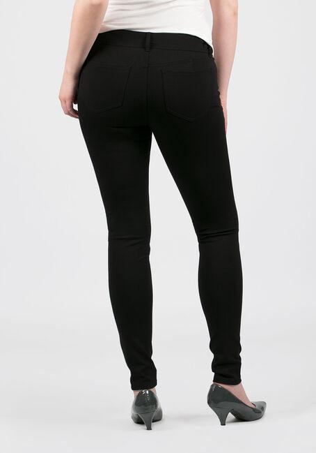 Ladies' Skinny Pants, BLACK, hi-res