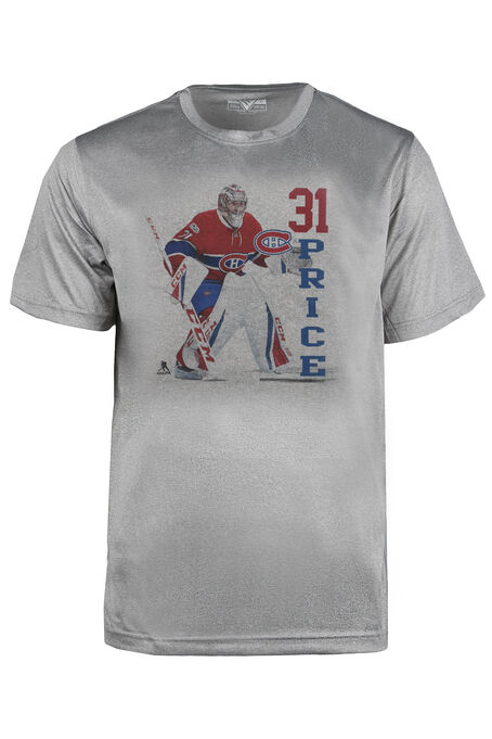 Men's NHL Canadiens Tee, HEATHER PEBBLE, hi-res