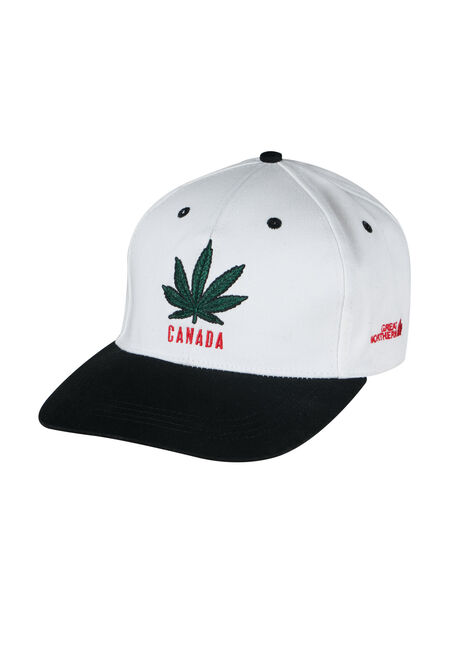 Men's Cannabis Flat Brim Baseball Hat