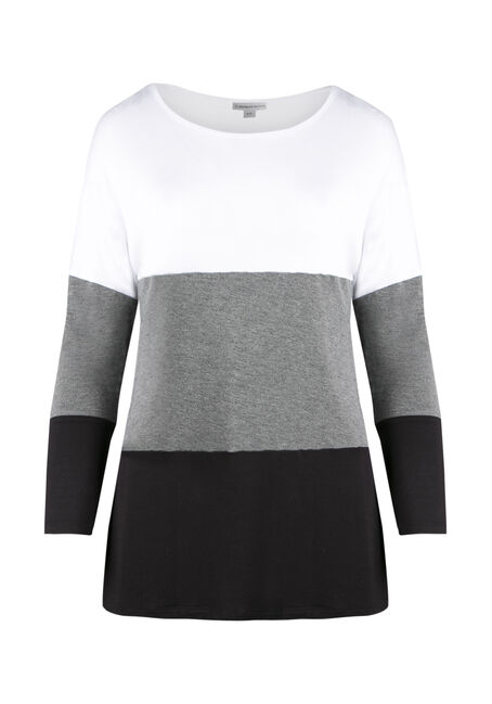 Ladies' Colour Block Tunic Top