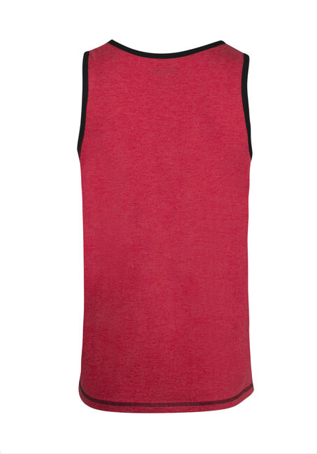 Men's True North Maple Leaf Tank, RED, hi-res