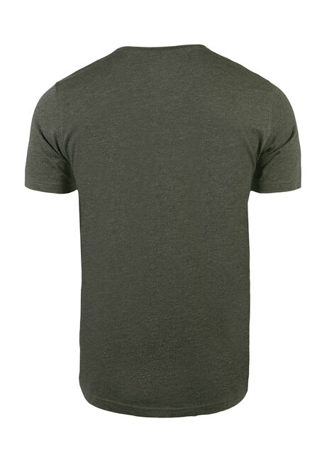 Men's Everyday Crew Neck Tee, Olive, hi-res