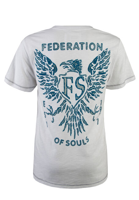 Men's Federation of Souls Tee, WHITE, hi-res