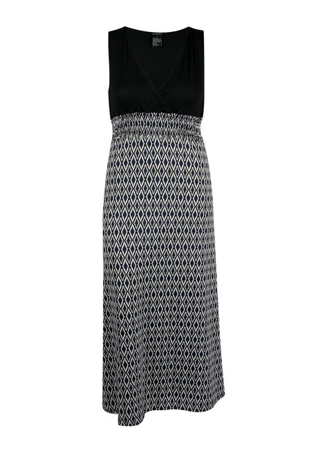 Ladies' Plus Size Mosaic Maxi Dress