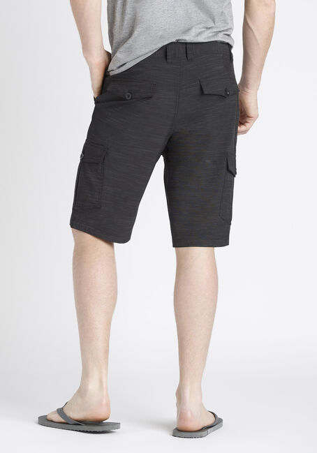 Men's Hybrid Cargo Short, BLACK, hi-res