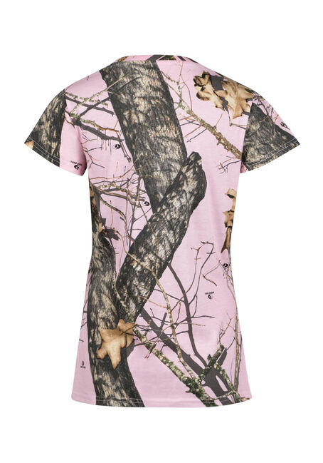 Ladies' Tree Stand Tee, LT PINK, hi-res
