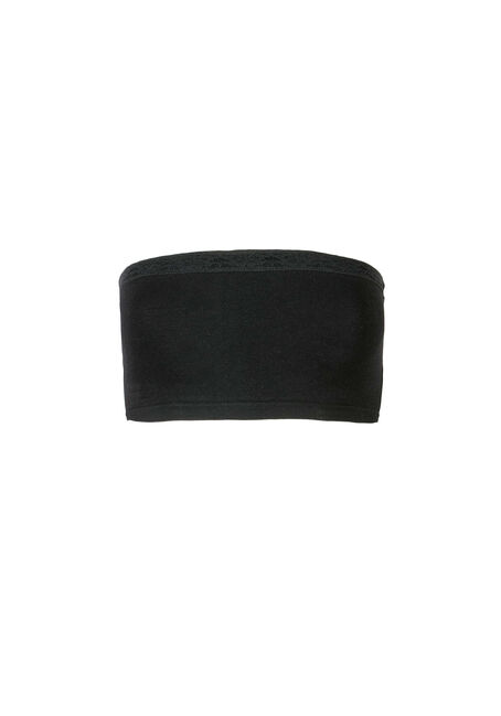 Ladies' Basic Bandeau, BLACK, hi-res
