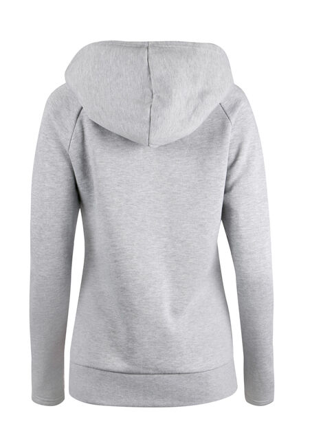 Ladies' Cowl Neck Hoodie, PEACH, hi-res