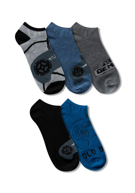 Men's 5 Pair Sega Genesis Socks