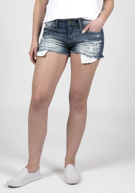 Ladies' Curvy Destroyed Short
