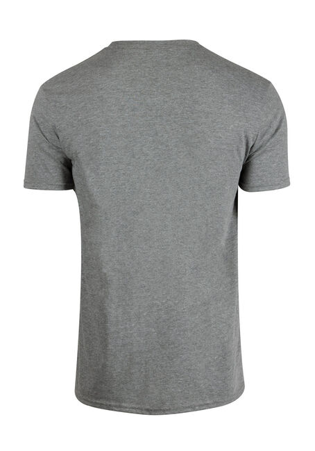 Men's Bane Tee, HEATHER GREY, hi-res